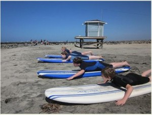 Surfing Lessons With Surfriders Academy
